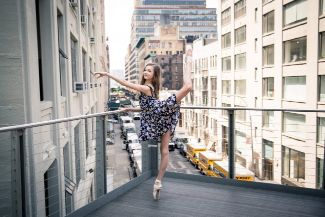 dance fashion city NYC ballet pointe photography