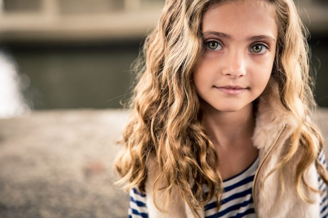 commercial children's fashion photography