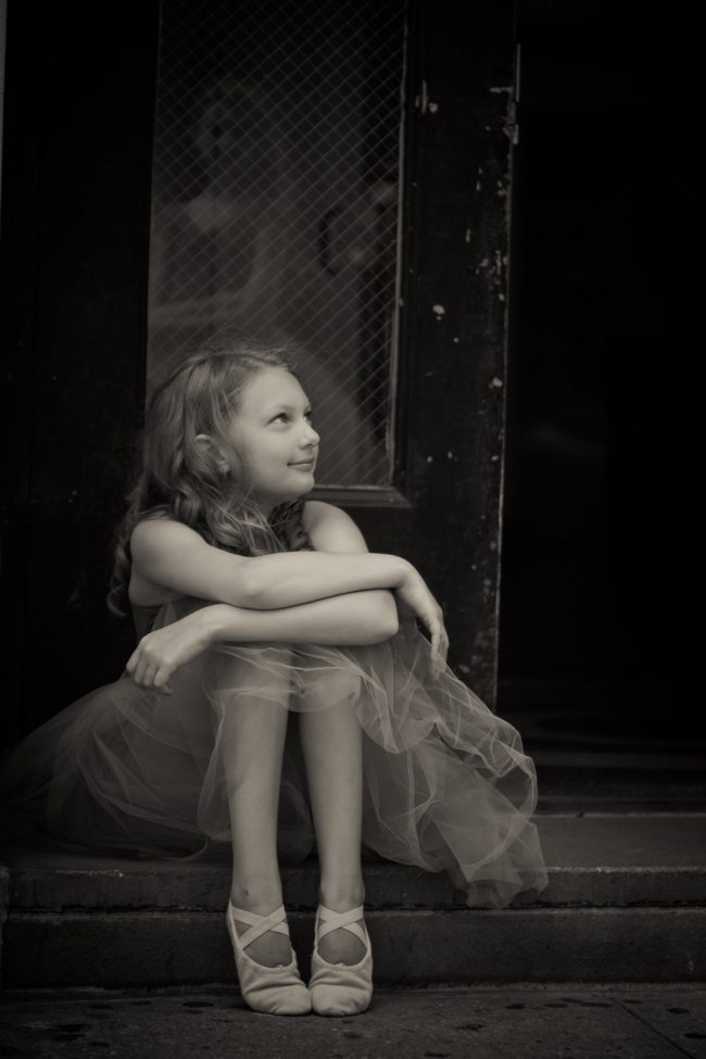 ballet dance pointe child NYC photography