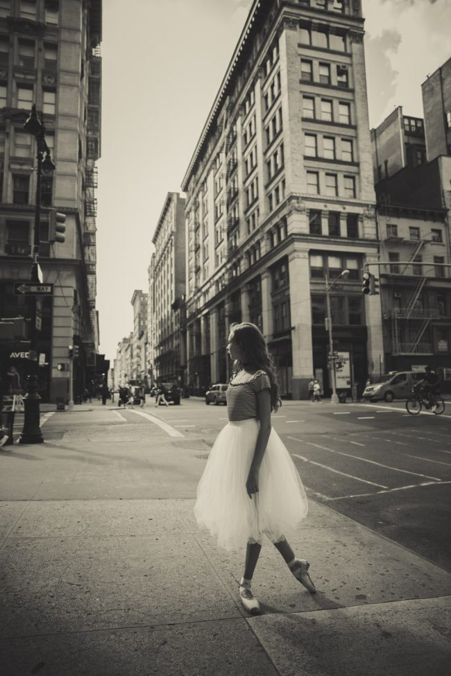 ballet dance pointe NYC Paris teen photography
