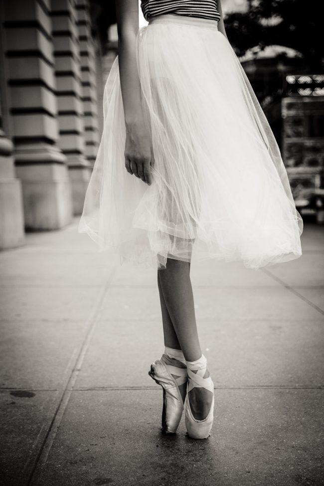 ballet dance pointe NYC photography