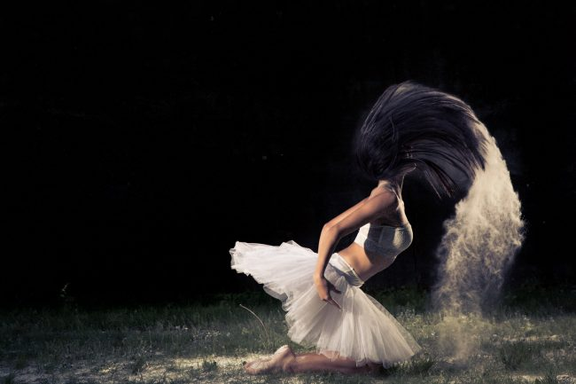dance powder ballet amazing photography