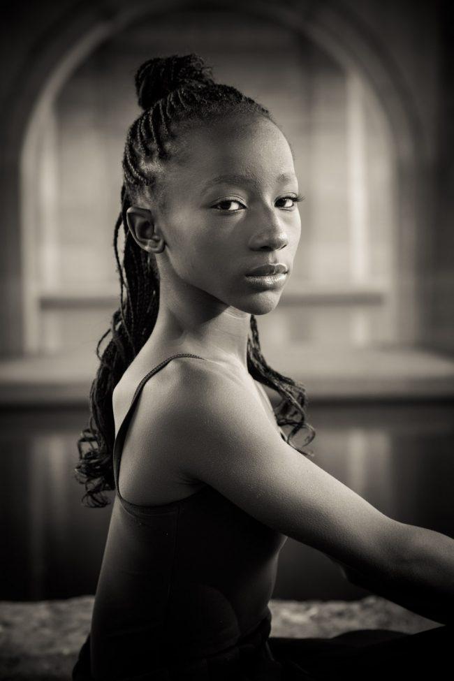 dance portrait headshot city teen Hartford CT