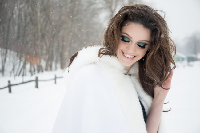 avant garde edgy fashion snow photography Middletown CT