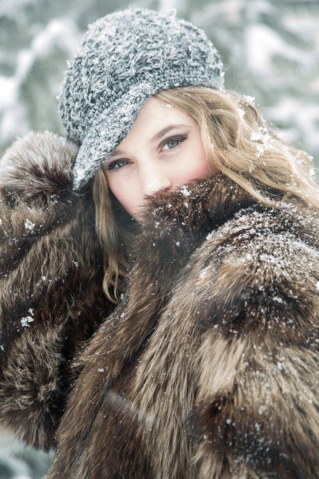 avant garde snow fashion photography Middletown CT
