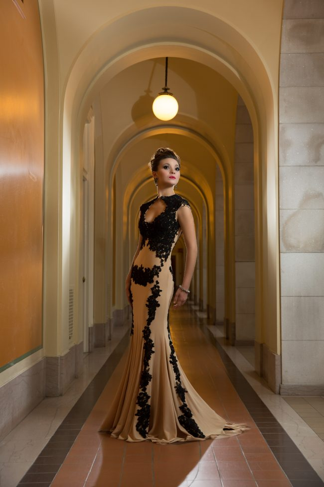 editorial fashion photography beautiful gown city hall Hartford CT