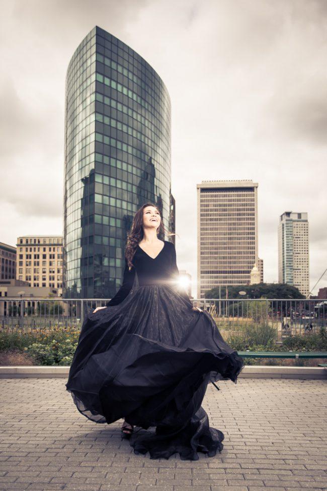 fashion_portrait_city_dramatic_woman_dress_ballgown_Hartford_CT_233_H