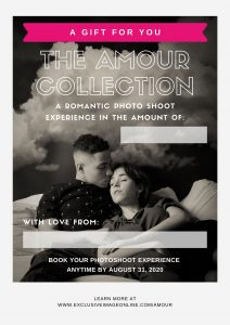 couples Boudoir photography valentines day Gift Certificate